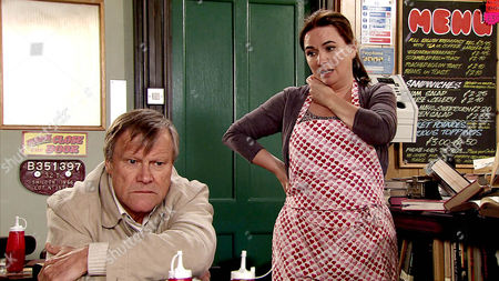 Faced with the devastation in his flat, Roy Cropper [DAVID NEILSON] is distraught. When police finish their search, Anna Windass [DEBBIE RUSH] tidies the mess and Jason fixes the locks. Although Anna Windass [DEBBIE RUSH], Tyrone Dobbs [ALAN HALSALL] and Fiz Stape [JENNIE McALPINE] do their best to reassure Roy, he is left clutching Hayley's ashes ? alone and terrified.