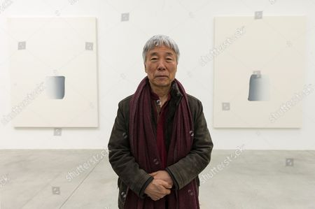 Editorial picture of Lee Ufan exhibition at the Lisson gallery, London, Britain  - 24 Mar 2015