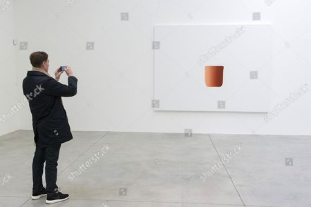 Stock Photo of Artwork by Lee Ufan