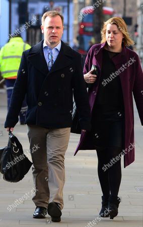 Craig Oliver and Liz Sugg