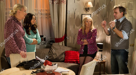 Editorial picture of 'Coronation Street' TV Programme. - Dec 2014