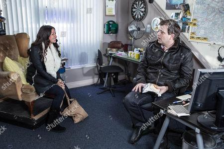 Editorial photo of 'Coronation Street' TV VProgramme. - Feb 2015