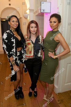 Amira McCarthy, Asami Zdrenka and Jess Plummer of Neon Jungle