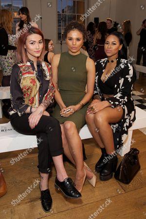 Asami Zdrenka, Jess Plummer and Amira McCarthy of Neon Jungle