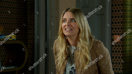 FROM ITVFROM ITV Emmerdale - Ep 66997 Monday 13 October 2014 Charity MACEY  [EMMA ATKINS]realises she is about to lose everything, including her freedom and panicked makes hasty plans to go. She empties a safe and is packing when a furious Megan Macey [GAYNOR FAYE] and Jai Sharma [CHRIS BISSON] storm in spoiling for a fight holding the DVD they have also been sent. With Jimmy King [NICK MILES] standing in as her protector Charity avoids this altercation but Megan menacingly tells Jimmy that Charity will get what is coming to her. This photograph is (C) ITV Plc and can only be reproduced for editorial purposes directly in connection with the programme or event mentioned above, or ITV plc. Once made available by ITV plc Picture Desk, this photograph can be reproduced once only up until the transmission [TX] date and no reproduction fee will be charged. Any subsequent usage may incur a fee. This photograph must not be manipulated [excluding basic cropping] in a manner which alters the visual appearance of the person photographed deemed detrimental or inappropriate by ITV plc Picture Desk. This photograph must not be syndicated to any other company, publication or website, or permanently archived, without the express written permission of ITV Plc Picture Desk. Full Terms and conditions are available on the website www.itvpictures.com STRICT EMBARGO -TV Listings Magazines Tuesday 7 October 2014, Newspapers and other media including ANY websites Saturday 11 October 2014 Emmerdale - Ep 66997 Monday 13 October 2014 Charity MACEY  [EMMA ATKINS]realises she is about to lose everything, including her freedom and panicked makes hasty plans to go. She empties a safe and is packing when a furious Megan Macey [GAYNOR FAYE] and Jai Sharma [CHRIS BISSON] storm in spoiling for a fight holding the DVD they have also been sent. With Jimmy King [NICK MILES] standing in as her protector Charity avoids this altercation but Megan menacingly tells Jimmy that Charity will get what i