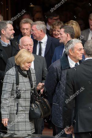 Denis Law and Sir Alex Ferguson
