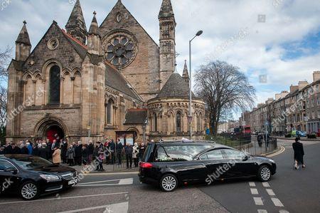 Editorial image of Funeral for Dave Mackay at Mansfield Traquair Centre, Edinburgh, Scotland, Britain - 24 Mar 2015