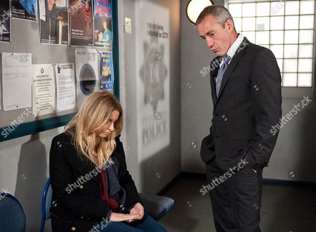 Charity Macey [EMMA ATKINS] has slept at the police station admitting to DI Bails [ROCKY MARSHALL] she would have changed her mind if she hadn't. She explains why she is there.
