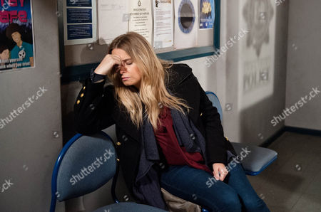 Charity Macey [EMMA ATKINS] has slept at the police station admitting to DI Bails [ROCKY MARSHALL] she would have changed her mind if she hadn't. She explains why she is there.   Photographer -Amy Brammall