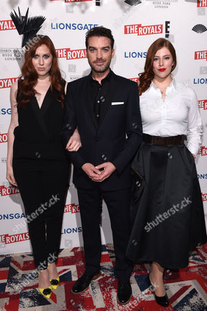 Stock Picture of Hatty Preston, Jake Maskall and Lydia Rose Bewley