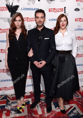 Stock Photo of Hatty Preston, Jake Maskall and Lydia Rose Bewley