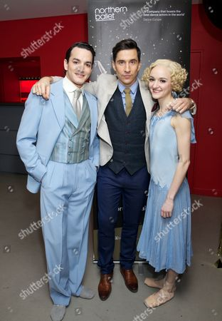 Javier Torres, Russell Kane and Dreda Blow