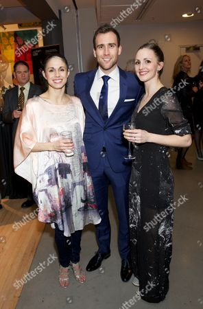 Martha Leebolt, Matthew Lewis and Hannah Bateman