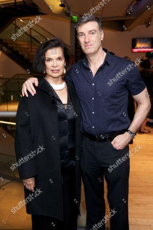 Bianca Jagger and David Nixon OBE (Artistic Director)