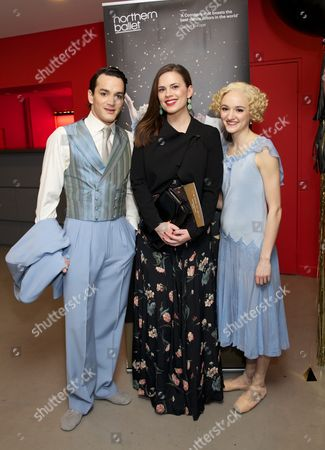 Javier Torres, Hayley Atwell and Dreda Blow