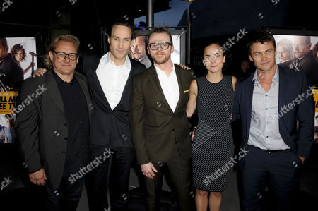 Kriv Stenders, Callan Mulvey, Luke Hemsworth, Simon Pegg and Alice Braga