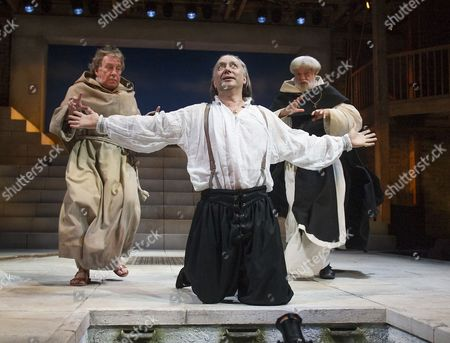 Jasper Britton as Barabas,  Catrin Stewart as Abigail