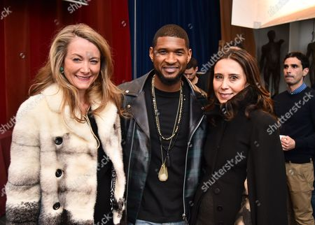 Editorial picture of Usher at the Royal Academy Of Arts Promoting Arts Education, London, Britain - 25 Mar 2015