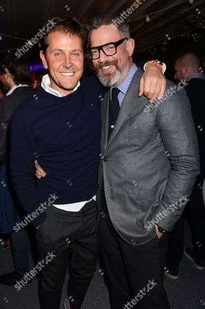 Editorial picture of Orlebar Brown X Emilio Pucci, 'Masters of Print' Launch Event, Selfridges, London, Britain - 25 Mar 2015