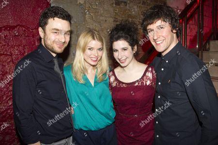 Stock Picture of Ilan Goodman (Liam), Gina Bramhill (Melody), Jenna Augen (Daphna) and Joe Coen (Jonah)