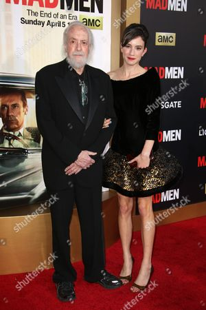 Stock Picture of Robert Towne and Chiara Towne