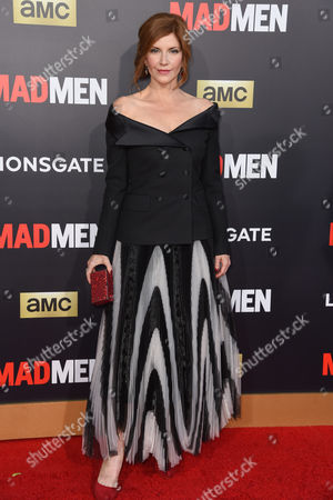Editorial photo of 'Mad Men' Black and Red Ball, Los Angeles, America - 25 Mar 2015