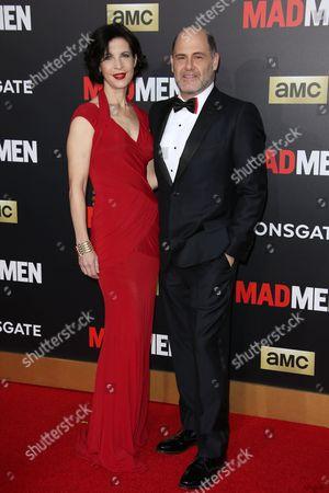 Matthew Weiner and Linda Brettler