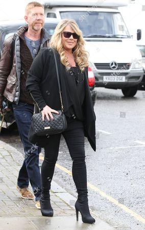 Letitia Dean filming Eastenders in Notting Hill