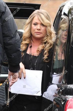Editorial image of Letitia Dean out and about, London, Britain - 26 Mar 2015