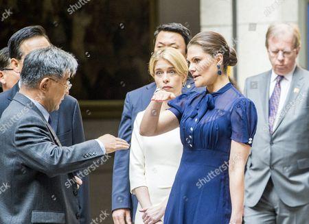 Editorial photo of Swedish Royals Visit Seoul, South Korea - 25 Mar 2015