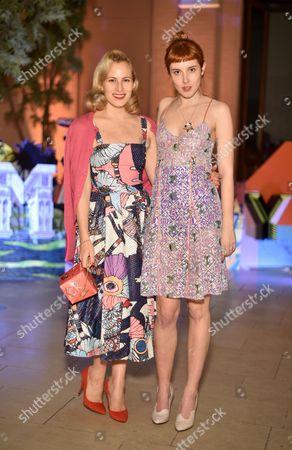 Charlotte Dellal and Paula Goldstein di Principe