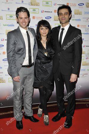 Martin Delaney, Amrita Acharia and Rez Kempton