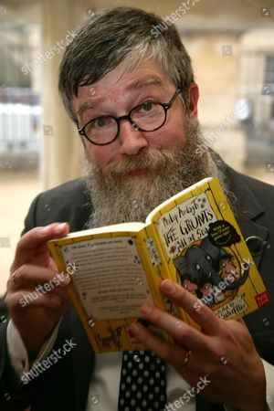 Stock Picture of Philip Ardagh