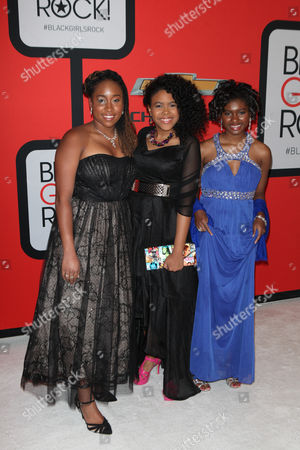 Stock Picture of Kaya Thomas, Gabrielle Jordan and Chental Song-Bembry