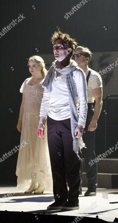 l-r: Katie Hall (Johanna Barker), Jack North (Tobias Ragg), Matthew Seadon-Young (Anthony Hope)