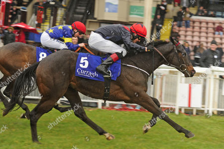 CURRAGH. STATE OF EMERGENCY and Emmet McNamara winning for trainer Michael O'Callaghan.