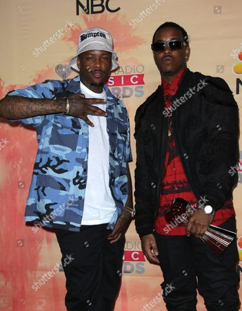 Stock Picture of Jeremih and Keenon Jackson