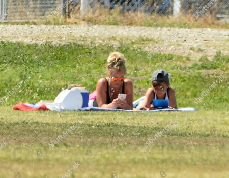 Britney Spears and son Sean Federline