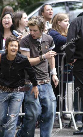 Rhona Cameron and Danny Jones - McFly