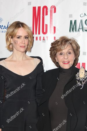 Stock Picture of Sarah Paulson, Fran Weissler