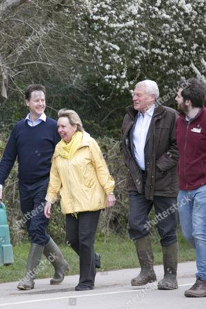 Nick Clegg and Lorely Burt