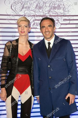 Nikos Aliagas and his wife Tina Grigoriou