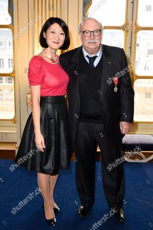 Fleur Pellerin and Jean Becker