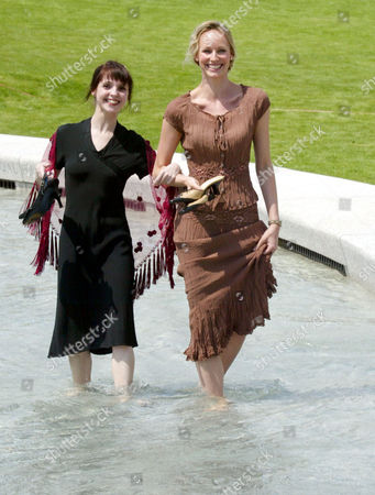Editorial image of THE OPENING OF THE DIANA, PRINCESS OF WALES MEMORIAL FOUNTAIN IN HYDE PARK, LONDON, BRITAIN - 06 JUL 2004