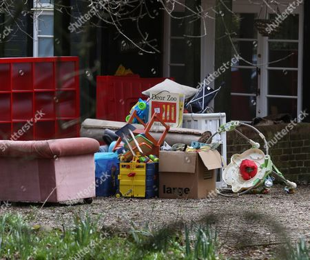 Editorial image of Home of Peaches Geldof is cleaned out and decorated, Wrotham, Kent, Britain - 30 Mar 2015