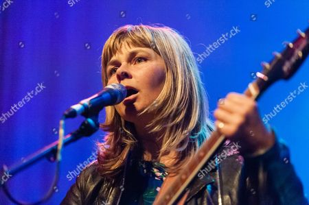 Editorial photo of The Vaselines in concert at the Roundhouse, London, Britain - 30 Mar 2015