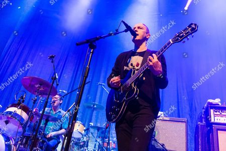 Editorial image of The Vaselines in concert at the Roundhouse, London, Britain - 30 Mar 2015