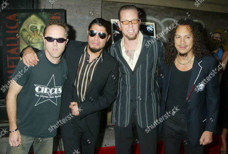 Lars Ulrich, Rob Trujillo, James Hetfield and Kirk Hammett - Metallica