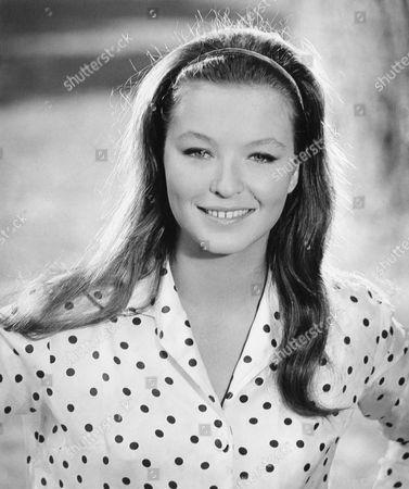 Marina Vlady, Smiling Portrait, on-set of the Film, 'The Conjugal Bed' (aka L'Ape Regina), 1963