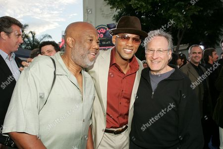 Stock Picture of Howard Bingham, Will Smith and Michael Mann